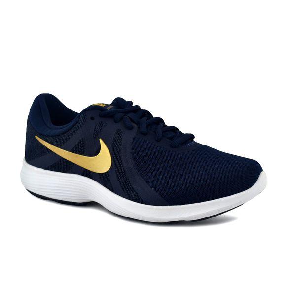 labio cerca alondra  Zapatillas Nike | Zapatilla Nike Mujer Revolution 4 Running Azul -  FerreiraSport