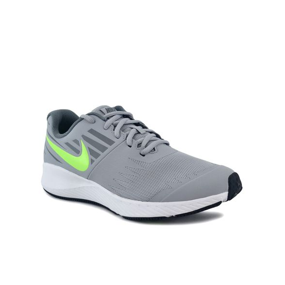 Álbum de graduación disparar Bolos  Zapatillas Nike   Zapatilla Nike Niño Star Runner Gris/Verde - FerreiraSport