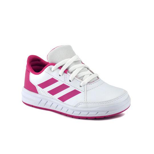 Zapatilla-Adidas-Niño-Altasport-K-Blanco-Fucsia-Principal
