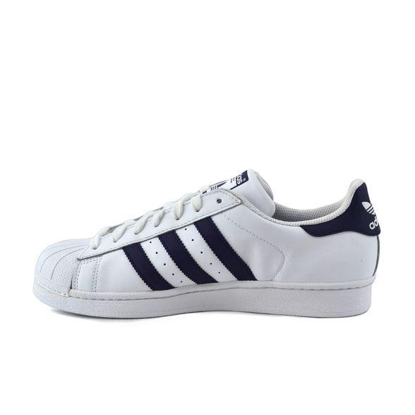 Zapatilla Adidas Mujer Superstar W Blanco/Violeta
