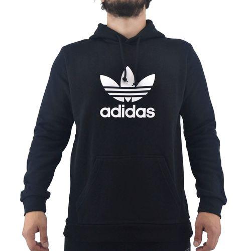 Buzo-Adidas-Hombre-Trefoil-Hoodie-Negro-Principal