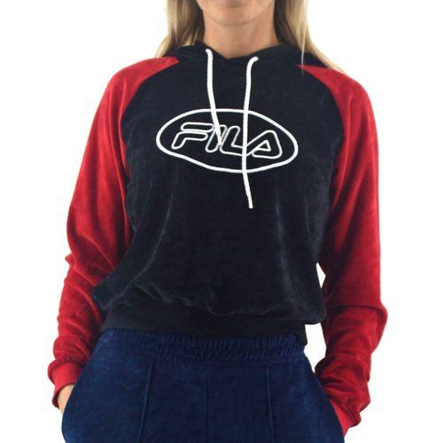 Buzo-Fila-Mujer-Alexa-Negro-Rojo-principal