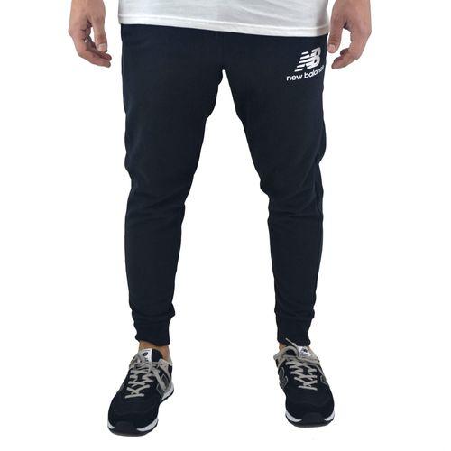 Pantalon-New-Balance-Hombre-Essentials-Brush-Negro-principal