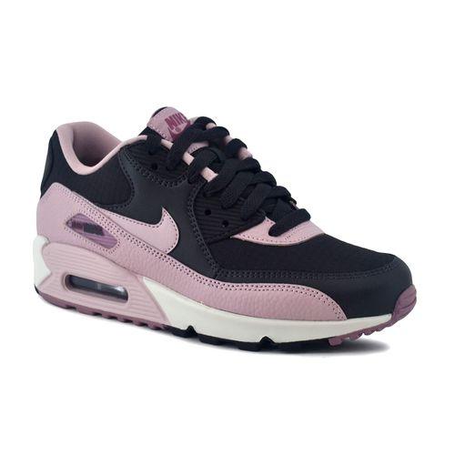 Zapatilla-Nike-Mujer-Air-Max-90-Negro-Rosa-principal