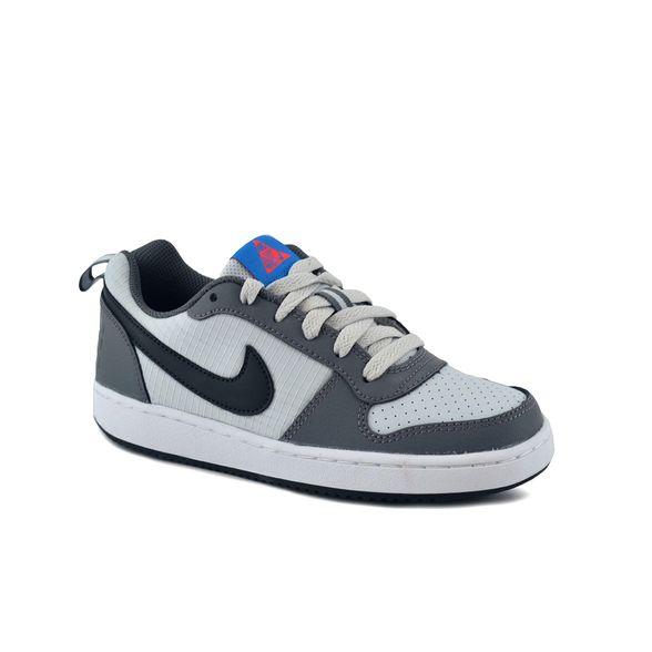 rojo banco Buscar  Zapatillas Nike   Zapatilla Nike Niño Court Borough Low Gris - FerreiraSport