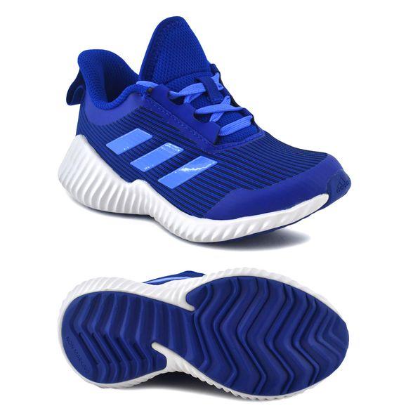 Zapatilla Adidas Niño Fortarun K Running Azul