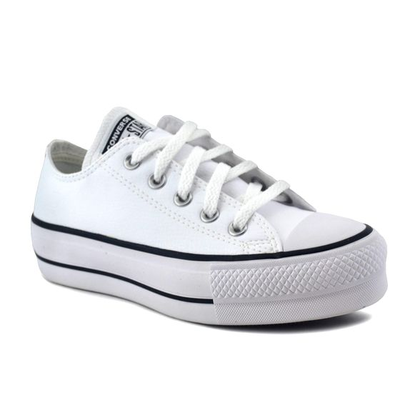 converse mujer blancas lift