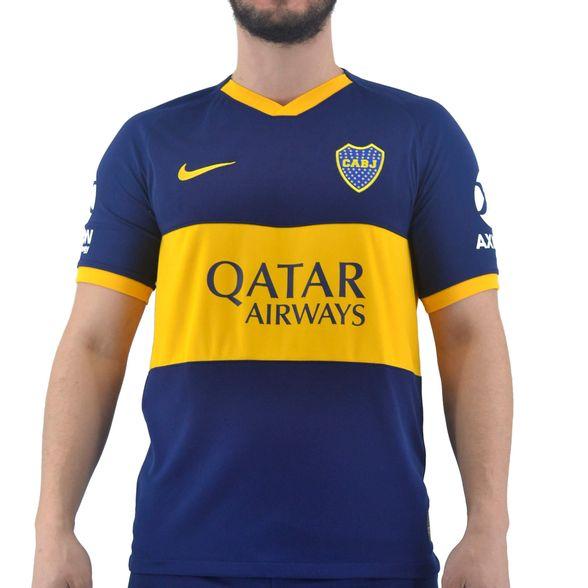 la nieve reunirse escapar  Camisetas Nike | Camiseta Nike Hombre Boca Jrs. Oficial Titular BRT Stadium  - FerreiraSport