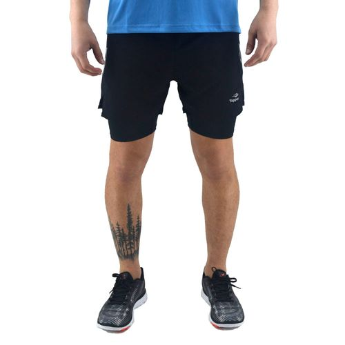 short-topper-hombre-woven-2in-1-running-negro-to-163458-Principal