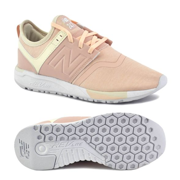 new balance celeste y rosa