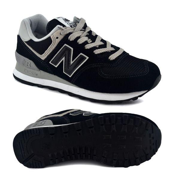 Mentor Melodramático bandera nacional  Zapatillas New Balance | Zapatilla New Balance Mujer Wl574Eb Negro/Blanco -  FerreiraSport