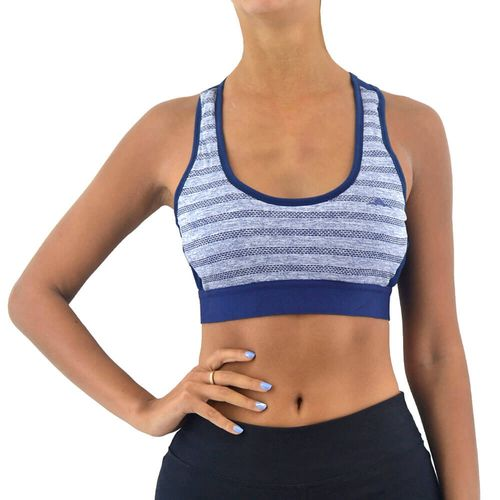 Top-Abyss-Mujer-Con-Jacquard-Y-Mesh-Training-Azul-Principal