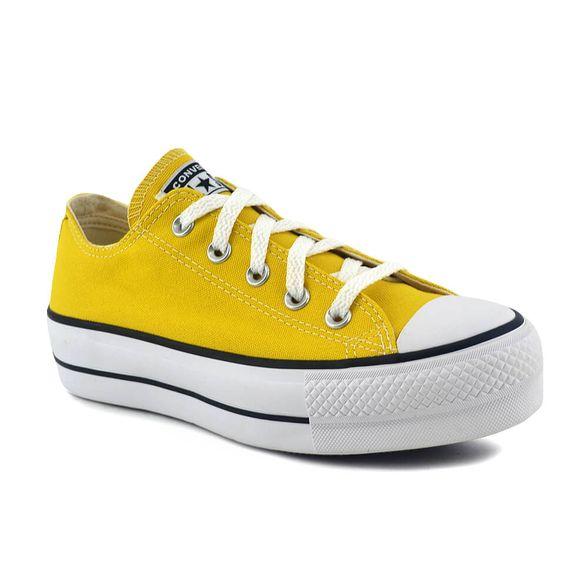 converse amarillo mujer