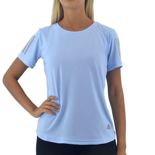 valor fórmula barbilla  Remeras Adidas | Remera Adidas Mujer Own The Run Tee Celeste - FerreiraSport