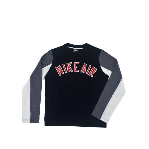 buzo-nike-ni-o-air-lifestyle-ls-top-negro-gris-ni-aq9431010-Principal