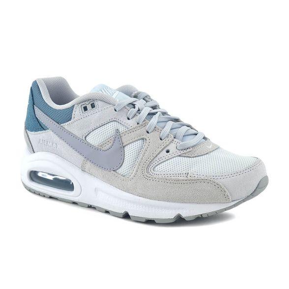 ojo Devastar gritar  Zapatillas Nike | Zapatilla Nike Mujer Air Max Command Blanco/Celeste -  FerreiraSport