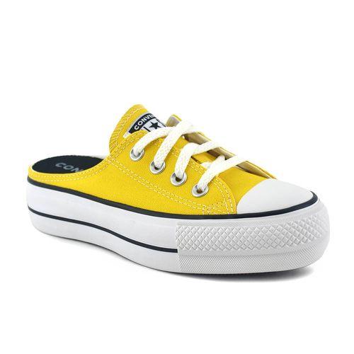 Zapatilla-Converse-Mujer-Ctas-Mule-Slim-Amarillo-Principal