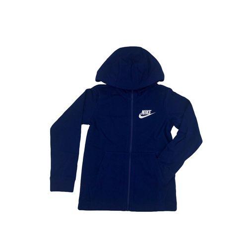 Campera-Nike-Niño-Hoodie-Fz-Jsy-Azul-Principal