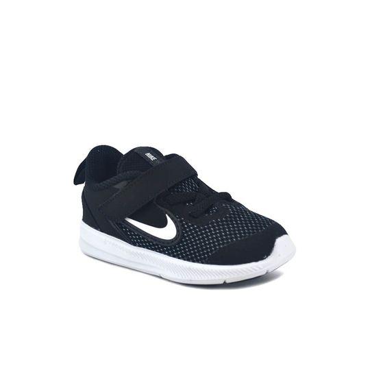 Zapatilla-Nike-Niño-Downshifter-9--Tdv--Negro-Blan-Principal