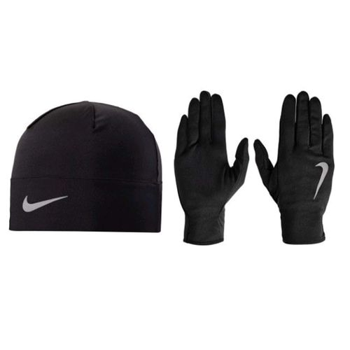 Gorro-Guante-Nike-Hombre-Run-Dry-Negro-Principal