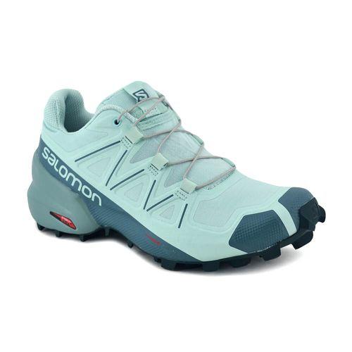 Zapatilla-Salomon-Mujer-Speedcross-5-Training-Verde-Agua-Principal