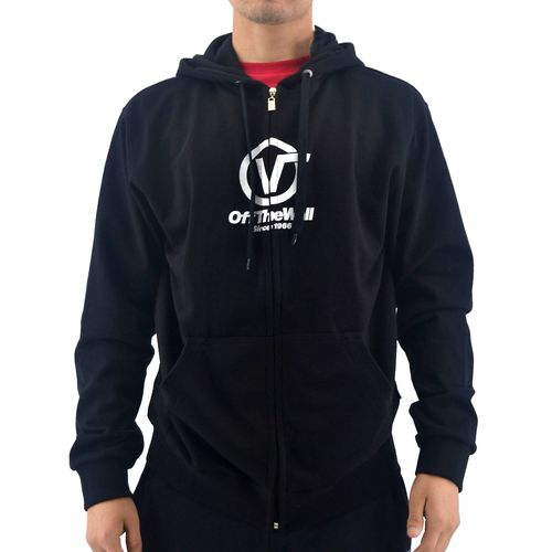 Campera-Vans-Hombre-Distorted-Full-Zip-Negro-Principal