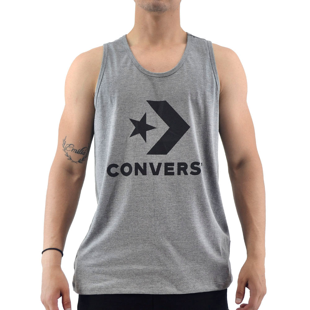Sophie el estudio Coche  Sudaderas Y Musculosas Converse   Musculosa Converse Hombre Nova Logo Tank  - FerreiraSport