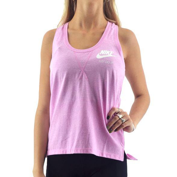 Pobreza extrema rehén Coronel  Sudaderas Y Musculosas Nike | Musculosa Nike Mujer Nsw Gym Vintage Rosa -  FerreiraSport