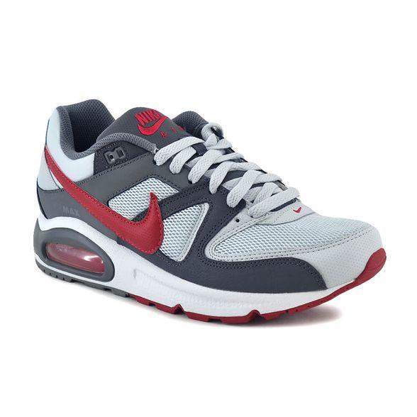 Fiel reaccionar Skalk  Zapatillas Nike   Zapatilla Nike Hombre Air Max Command Gris/Rojo -  FerreiraSport