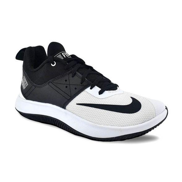 zapatillas nike blancas con negro