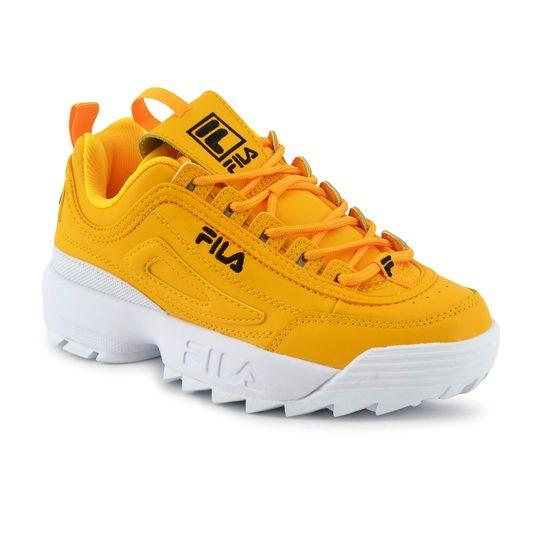 zapatilla-fila-mujer-disruptor-ii-premium-amarillo-fi-5fm00540702-Principal