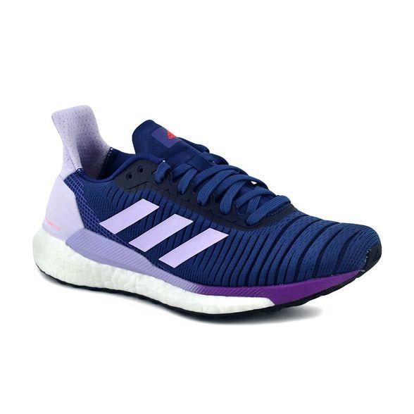 convergencia Shetland Sospechar  Zapatillas Adidas | Zapatilla Adidas Mujer Solar Glide 19 Running Azul/Lila  - FerreiraSport