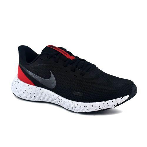 zapatilla-nike-hombre-revolution-5-negro-rojo-ni-bq3204003-Principal