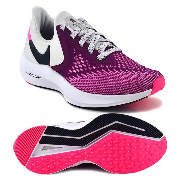 Anterior Cooperativa Adjuntar a  Zapatillas Nike | Zapatilla Nike Mujer Zoom Winflo 6 Running Violeta/Crudo  - FerreiraSport