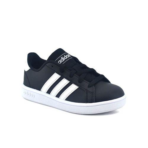 zapatilla-adidas-ni-o-grand-court-negro-balnco-ad-ef0102-Principal