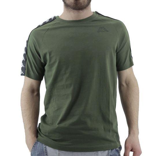 remnera-kappa-hombre-banda-coen-slim-verde-musgo-ka-303uv10a13-Principal