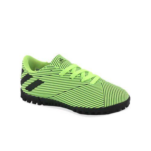 botin-adidas-ni-o-nemeziz-19-4-tf-j-verde-ad-fv3314-Principal