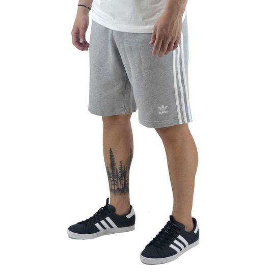 short-adidas-hombre-3-stripes-gris-ad-dh5803-Principal